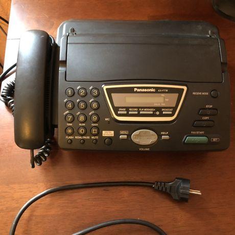 Продам рабочий телефон/факс Panasonic KX-FT76RU факсимильный аппарат