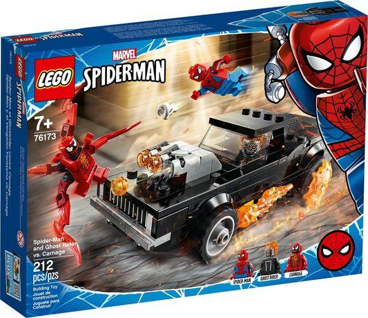 Lego Marvel 76173 Spider-Man i Upiorny Jeździec kontra Carnage  Wys24