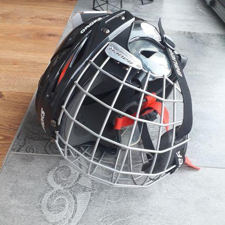 Kask hokejowy OROKS 500 + krata BAUER FM2100 rozmiar XS 48-52
