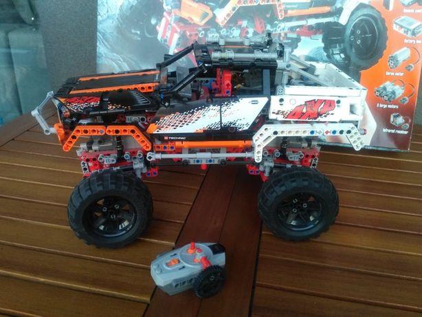 Lego Technic 9398. Napęd 4 x 4. Komplet.