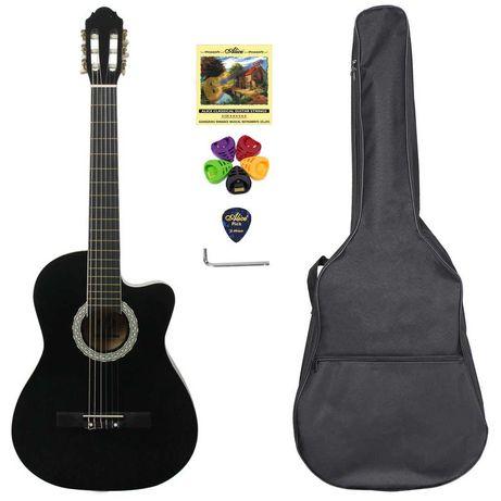 Гитара классическая Almira CG-1702С BK (чехол+капа+медиатор+струна)