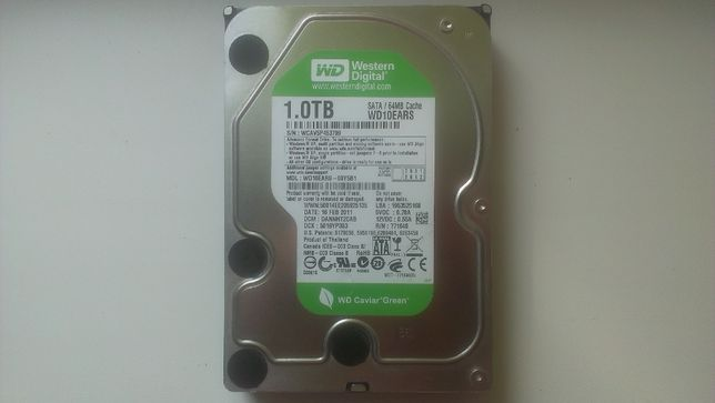 Жесткий диск HDD Western Digital 1 ТБ