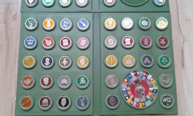 SHREK kolekcja medalionów w albumach