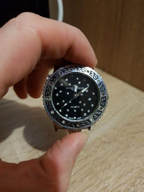 Часы Ulysse Nardin с камнями + застежка оригинал!!!