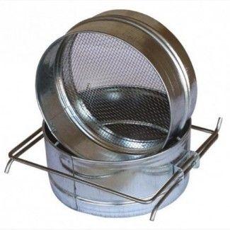 Фильтр двухсекционный d=150 ( нержавеющая сталь ) для меда