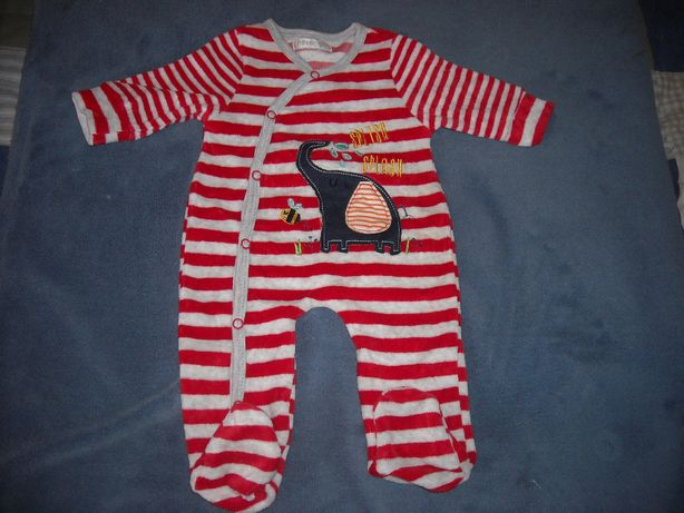 Babygrows Pitter Patter 0-1 mês