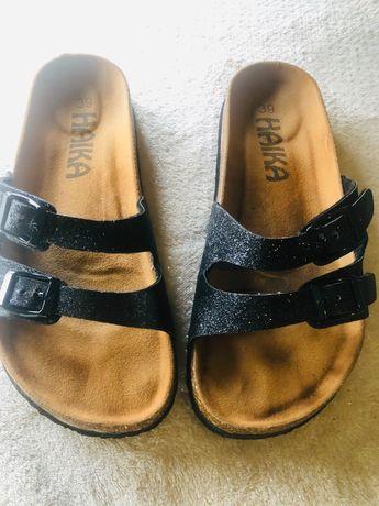Chinelas como birkenstock super confortáveis calça 38/39 24.5cm