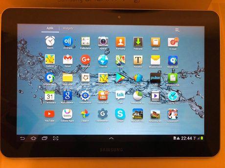 Tablet Samsung Galaxy Tab 10.1. GT–P7500 modem 3G Kompletny zapakowany
