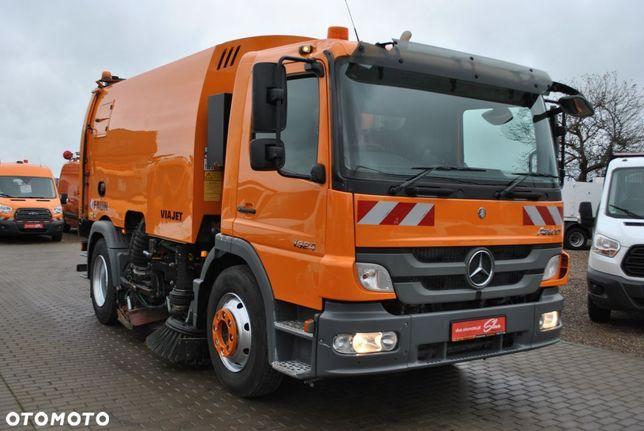 Mercedes-Benz Atego 1524 Zamiatarka  Zabudowa FAUN Viajet Rura Do Liści EUnited PM 10 Euro 5 Mth: 5693