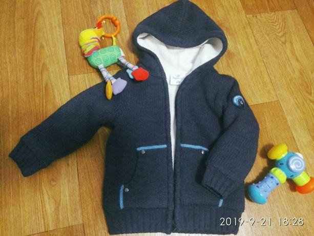 Кофта Topolino меховушка куртка для мальчика ветровка свитер пайта