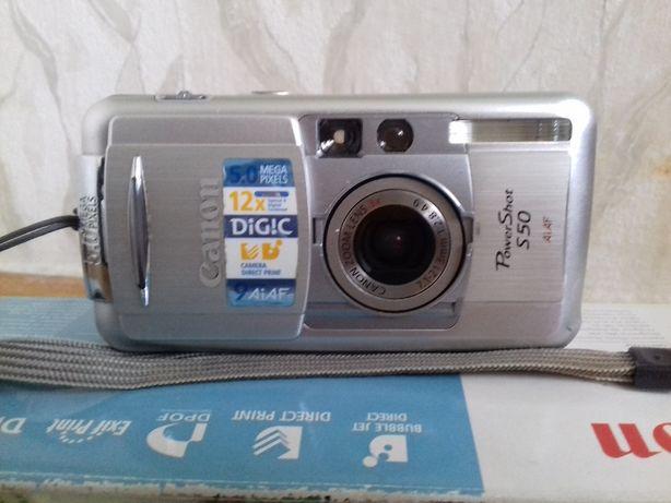 Продам фотоаппарат Canon PowerShot S50