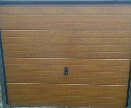 Okazja nowa brama garażowa segmentowa z napędem.