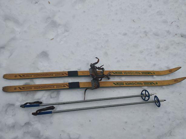 Лыжи Юность СССР