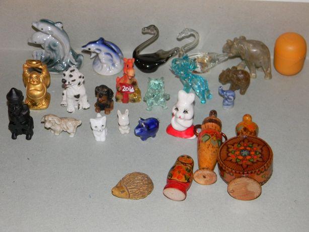 сувенирные фигурки животных