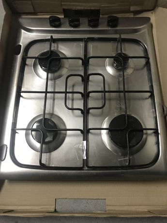 Placa de Cozinha a Gás Encastrável Indesit PIM 640 S (IX) Inox