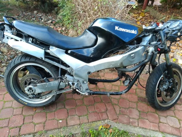 Kawasaki zzr 1100 na części lub zamienię na coś innego do motocykla