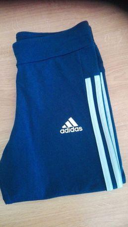 Spodnie sportowe,rybaczki addidas 164 młodzieżowe.