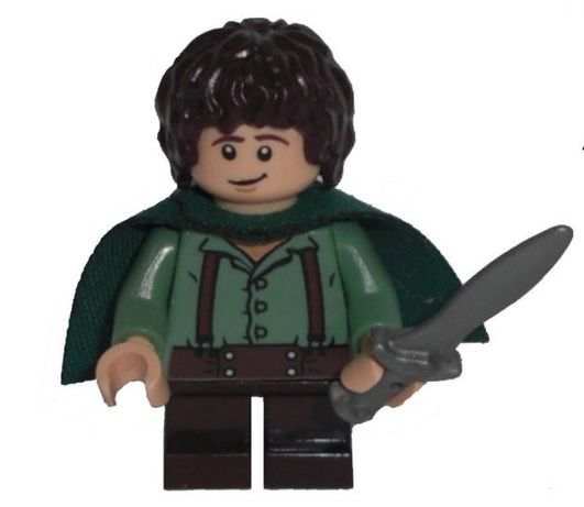 LEGO HOBBIT FRODO BAGGINS Lord of the Rings Nowa Oryginalna Figurka