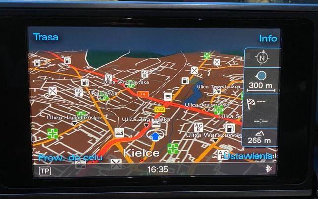 Audi MMI 3G Najnowsza Mapa Europy 2021 (6.31.1) Nawigacja Wrocław