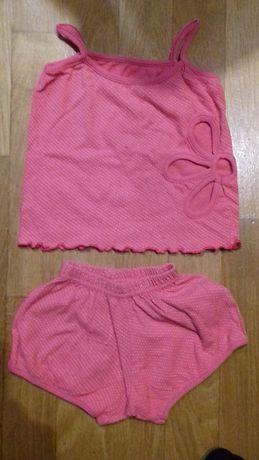 Майка и шорты для девочки комплект