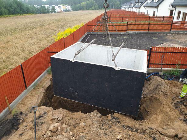 SZAMBO betonowe 12m3 kompletny montaż Białystok Podlaskie