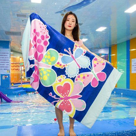 Полотенце пляжное, банное, махровое. Детское. Различные цвета.