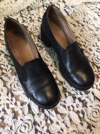 Лоферы/Туфли кожаные женские