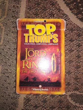 Колода карт Top trumps The Lord of the Rings (Властелин колец)