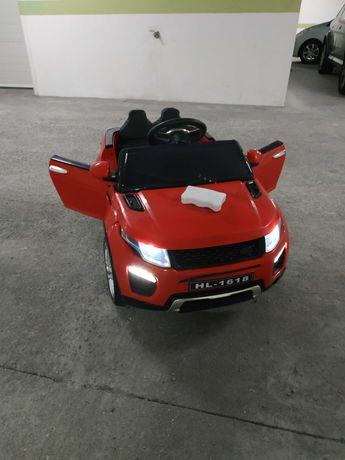 Carro Bateria Land Rover + comando direcional