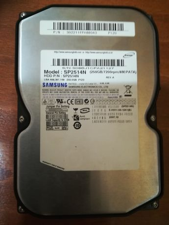 Hdd ide Samsung 250 gb