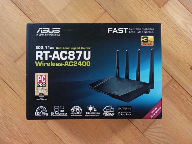 ASUS Router Gaming Wi-Fi 2.4 / 5GHz, até 2.334 Mbps (Como Novo)