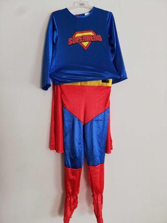 Strój na bal karnawałowy przebierańców super bohater