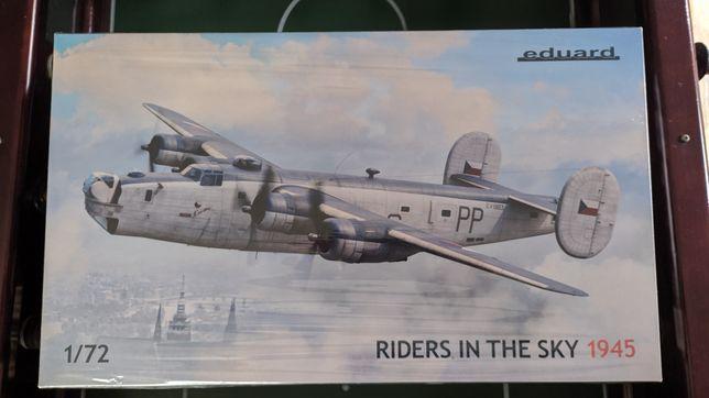 Eduard 1/72 B-24 Riders in the Sky edição limitada kit modelismo