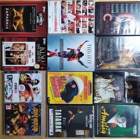 Filmy DVD Coco Chanel, This Is It, Amelia, Nic Śmiesznego i inne