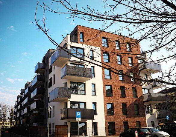 Nowoczesne 2-pokojowe mieszkanie w apartamentowcu na ul. Fałata