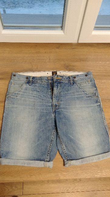 Krótkie spodenki jeansowe Lee rozm. 33