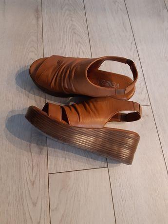 Sandały skórzane Venezia 36.