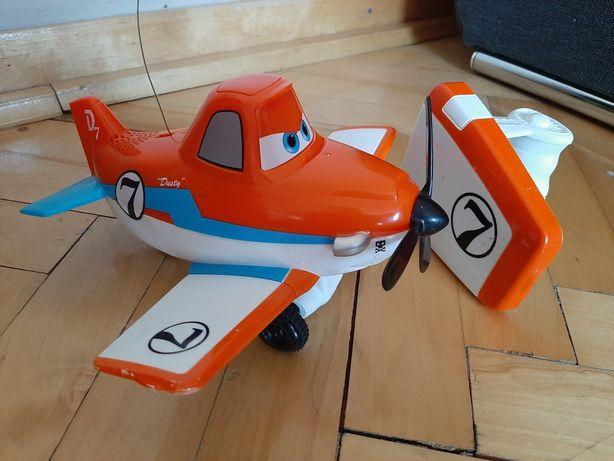 Samolot Dusty zdalnie sterowany poldek Planes samoloty cars na pilota