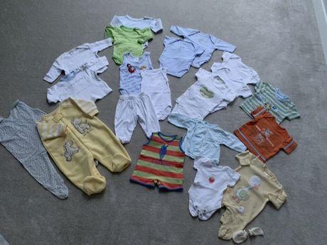 50-56 ubranka niemowlęce wyprawka zestaw
