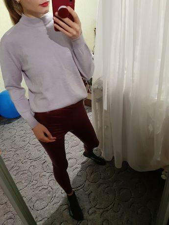 Мягенький шерстяной 100% свитер, джемпер оверсайз Италия
