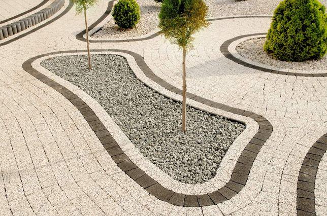 Kamień ogrodowy dekoracyjny szary