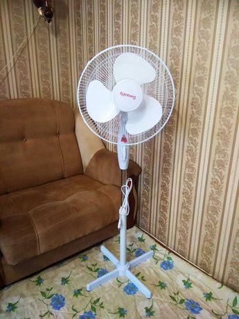 Вентилятор Новый Напольный Шикарный, есть Доставка