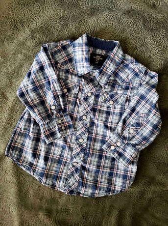 Рубашка L.O.G.G. by H&M Zara, Next