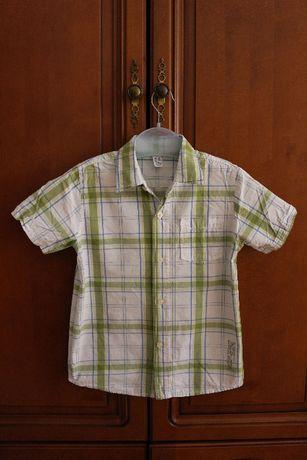 Рубашка Zara kids размер 6-7 лет рост 116-122см
