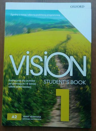 Vision 1 NOWY podręcznik Student's book Oxford A2 Quintana angielski