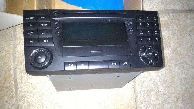 Consola áudio Mercedes - GPS Europa
