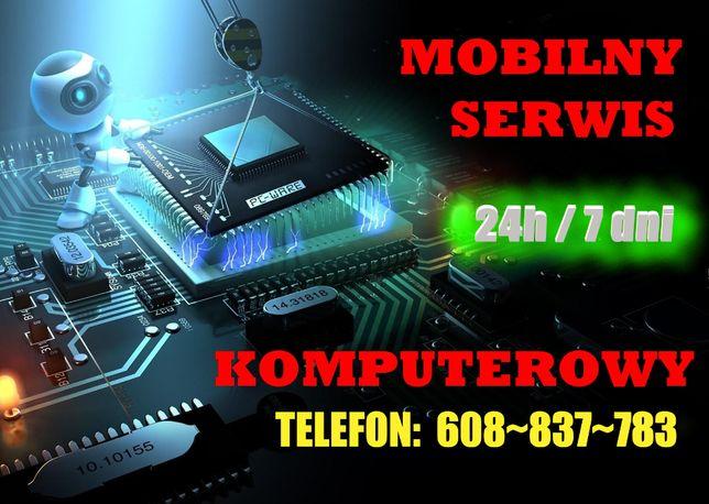 Mobilny serwis ~ Pogotowie komputerowe ~ Naprawa Laptopów i Komputerów