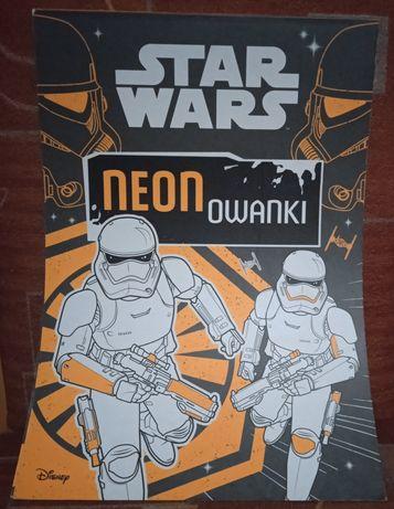 Kolorowanka neonowa Star Wars