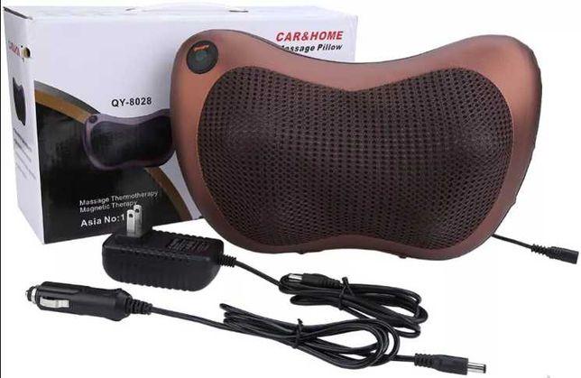 Массажная подушка Magic Massager для шеи,спины,поясницы,в Автомобиль