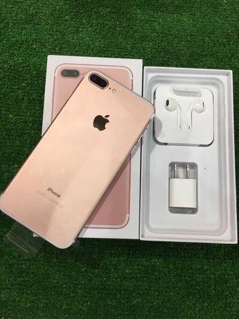 Магазин iPhone 7 Plus + 32 rose gold Neverlock АКБ 98% Оригинал Идеал